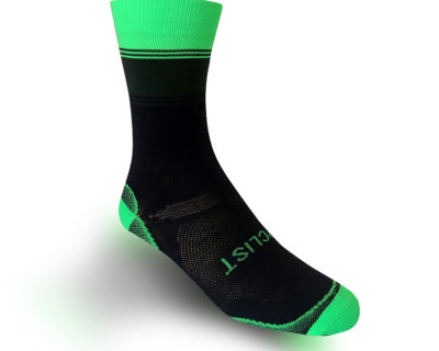 Sportif Vert </br> <span>black and green socks</span>